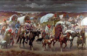 La piste des larmes, indiens, cherokee, exode, Géorgie, Oklahoma