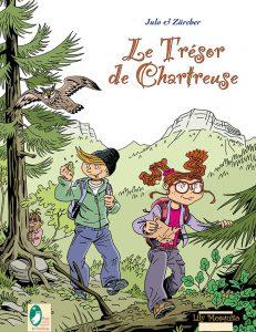 Parc Chartreuse, aventure, BD, bande dessinée, Meylie, Alex, hibou, aventure, humour
