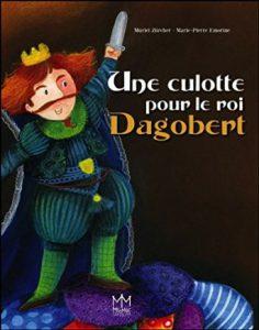 roi, combat, culottes, caleçon, album, enfant, dagobert, artiste