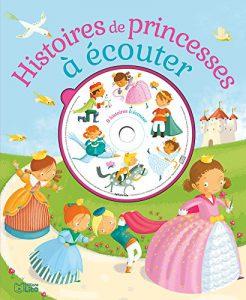livre CD, princesses, histoire à écouter,