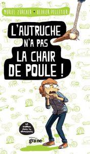 roman pour enfant, pompon, ours blanc, autruche, humour, toc