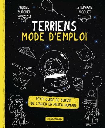documentaire déjanté, aliens, vie sur terre, humour, livre pour enfant, extra-terrestre, rigolo,
