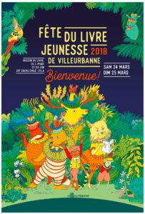 Muriel Zurcher, fête du livre de Villeurbanne, Marie Caudry