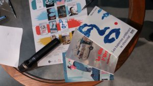 foire du livre Bruxelles, Luc Battieuw, CLJBxL, Xavier-Laurent Petit, Marie Colot, Robin des graffs, Thierry Magnier, Muriel Zurcher, Paul Hurtmanns