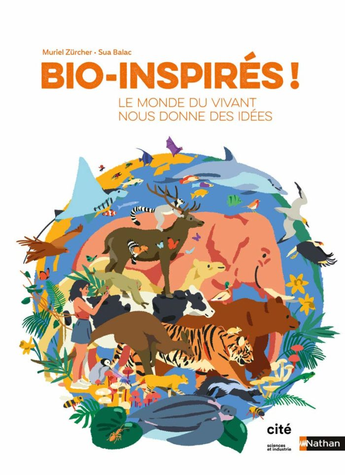 biomimétisme bioinspiration documentaire jeunesse nature vivant