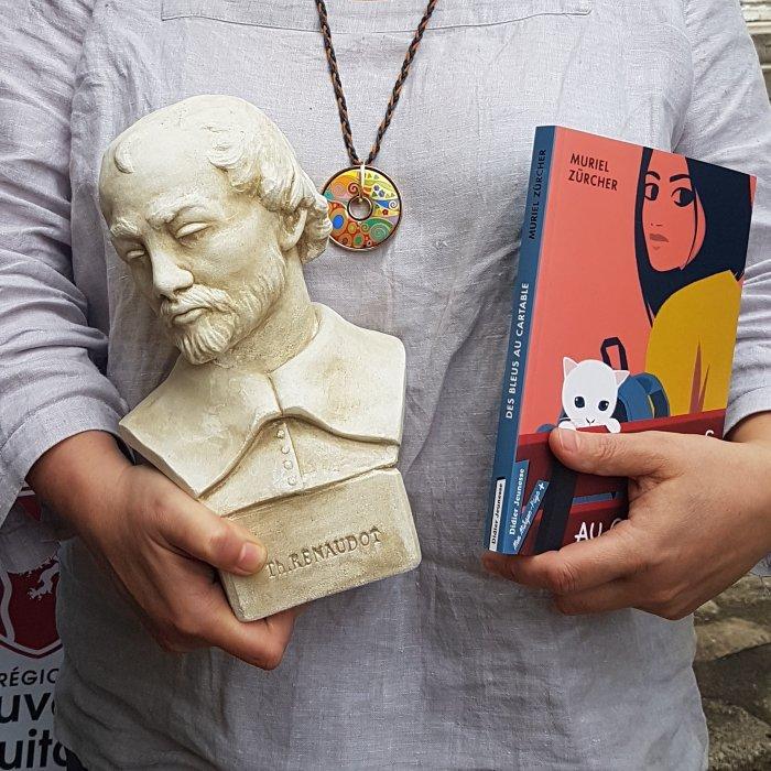 prix Renaudot benjamin, des bleus au cartable, roman jeunesse, harcèlement, muriel Zürcher, Sébastien Pelon, Prix littéraire, littérature de jeunesse